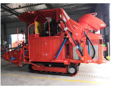 亿卓4TD-16型青毛豆收获机械