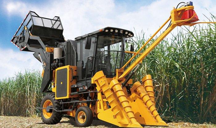 柳工s718切段式甘蔗收获机