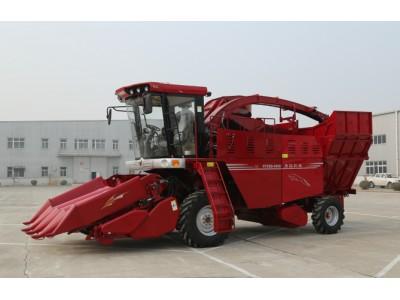 勇猛4YZQS-4A/4B穗茎兼收型自走式玉米收获机