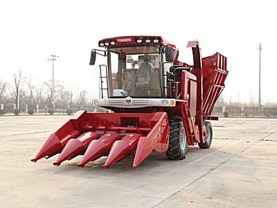 勇猛4YZ-4AS/4HS茎穗兼收型自走式玉米收获机