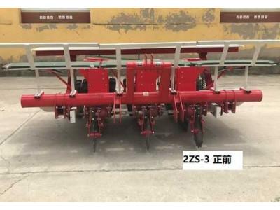 江苏中良机2ZS-3三行甜菜移栽机