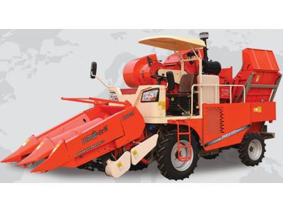 金达威4YZP-2H自走式玉米收获机