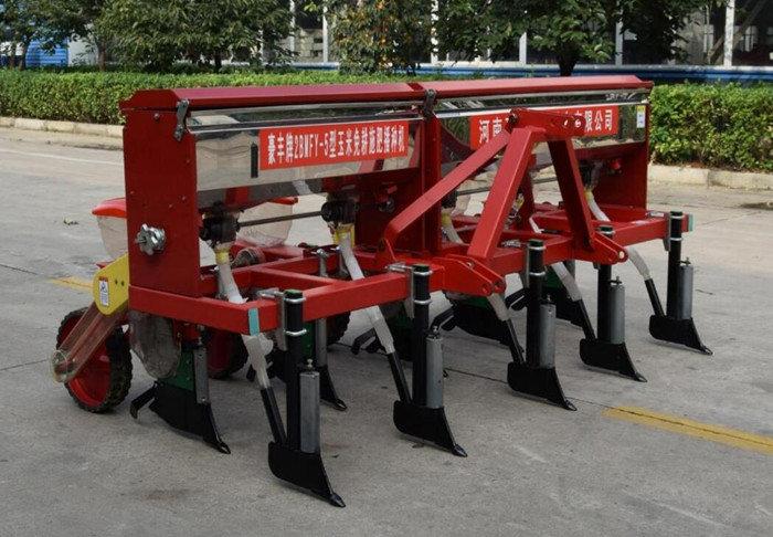 河南豪丰2BMFY-5玉米免耕施肥精量播种机