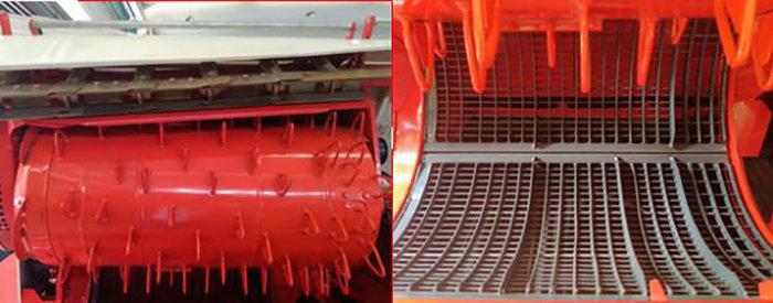 东华4LBZ-150B型半喂入联合收割机