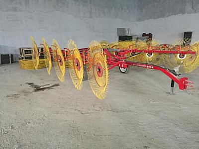 哈尔滨诺斯9LYZ-10牵引式液压折叠搂草机