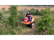 筑水农机割草机作业视频
