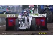2014年场面震撼的欧洲杯拖拉机拉力赛(7)