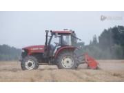 沃得奥龙WD1104拖拉机作业视频