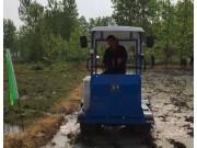 柳林1GZ60履带自走式旋耕机作业视频
