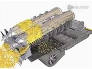 凯斯纽荷兰公司CR系列收割机双轴流滚筒技术视频