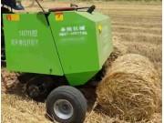 曲阜圣隆SL-70100小麦秸秆捡拾打捆机作业视频