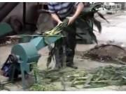 曲阜圣隆7.36型青草打浆机作业视频