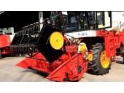 拨禾轮高低调整--春雨4LZ-7小麦收获机的调整保养