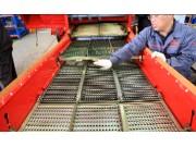筛面开度调整--春雨4LZ-7小麦收获机的调整保养