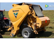 世界上第一台不间断打捆的圆捆机-Vermeer威猛公司