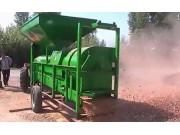 福麟5TY-180玉米脱粒机作业视频