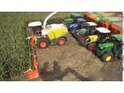24行的玉米青贮割台, 你见过吗