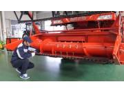 雷沃谷神GE系列小麦机维护与保养视频