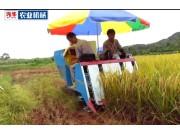汽牛4LZS-1.0型全喂入水稻联合收割机产品介绍