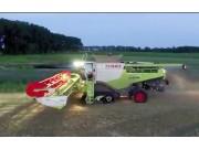 科乐收780大型联合收割机作业视频