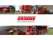格立莫马铃薯收获机械作业视频2017