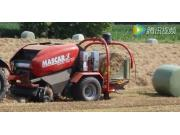 马斯卡Diavel630打捆包膜一体机-作业视频