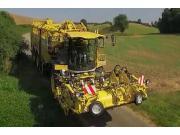 罗霸Tiger6系列系列自走式萝卜收获机-做业务视频