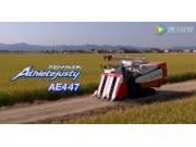 洋马AE447水稻收割机