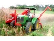 朱米尔公司JM390G背负式玉米收割机-作业视频