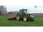 Vredo公司Agri Twin系列草坪播种机视频