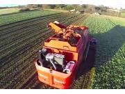 Agrifac公司HexxTraxx甜菜收获机航拍视频