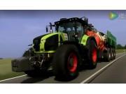 科乐收(CLAAS)AXION900系列拖拉机视频
