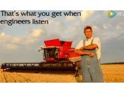 麦赛福格森9500系列联合收割机介绍视频