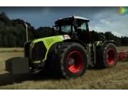 科乐收(CLAAS)XERION5000/4500拖拉机视频