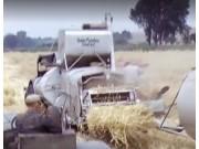 科乐收(CLAAS)SUPER系列牵引式收割机视频
