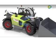 科乐收(CLAAS)SCORPION农用装载机发动机冷却系统视频