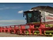 科乐收(CLAAS)LEXION600系列收割机配VARIO 1200系列割台视频