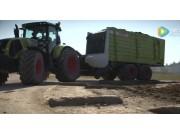 科乐收(CLAAS)新款CARGOS8000牧草捡拾拖车视频