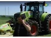 科乐收(CLAAS)拖拉机自动导航系统视频