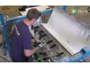 约翰迪尔收割机秸秆粉碎机性能测试视频
