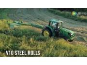 约翰迪尔牵引式割草机视频