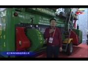 龙江景西190-Z型玉米脱粒机视频详解---2018国际农机展