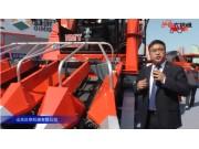 山东巨明玉米穗茎兼收机视频详解—2018国际农机展