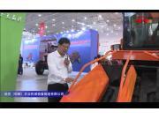 哈克农装4YZB-4C玉米收获机视频详解---2018国际农机展