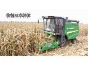 金大丰纵轴流收玉米籽粒、小麦、大豆视频