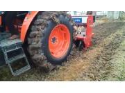 鑫乐机具前茬水稻收获后一次性免耕播种小麦视频