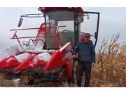 山东新农发三行四驱玉米机——用户口碑杠杠的视频
