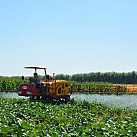 現代農裝(中農機)3WZG-650自走式噴桿噴霧機