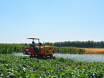 現代農裝(中農機)3WZG-650自走式高地隙噴桿噴霧機