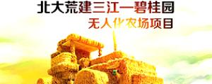 北大荒建三江—碧桂園無人化農場項目